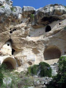 Matera complesso rupestre San Nicola all'Ofra
